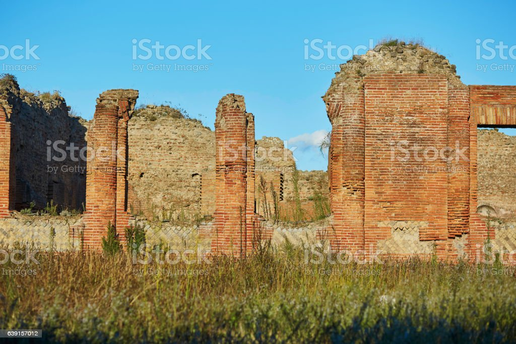 Ancient Ruins In Pompeii Italy Stock Photo Download Image Now Istock