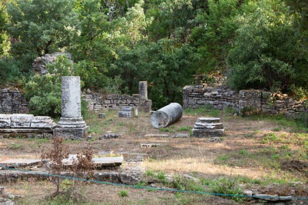 Antike Ruinen in Troja. – Foto