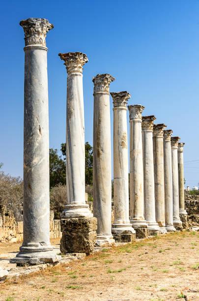 Ancient Ruins of Salamis - Cyprus - foto stock
