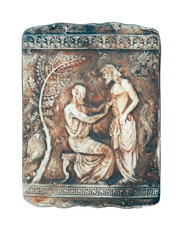 Historische Szene In Marmor Stockfoto und mehr Bilder von Altes Griechenland
