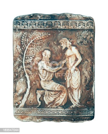 Historische Szene In Marmor Stock-Fotografie und mehr Bilder von Altes Griechenland