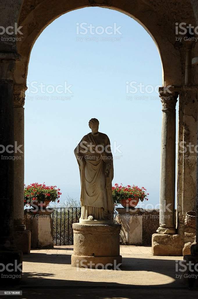 Ancient sculpture royalty-free stock photo