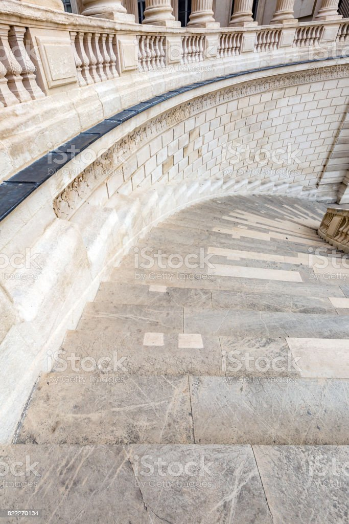 Ancient Staircase stock photo
