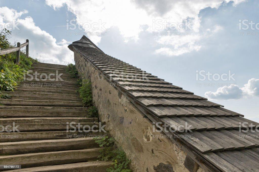 고 대 천국의 계단 - 로열티 프리 0명 스톡 사진