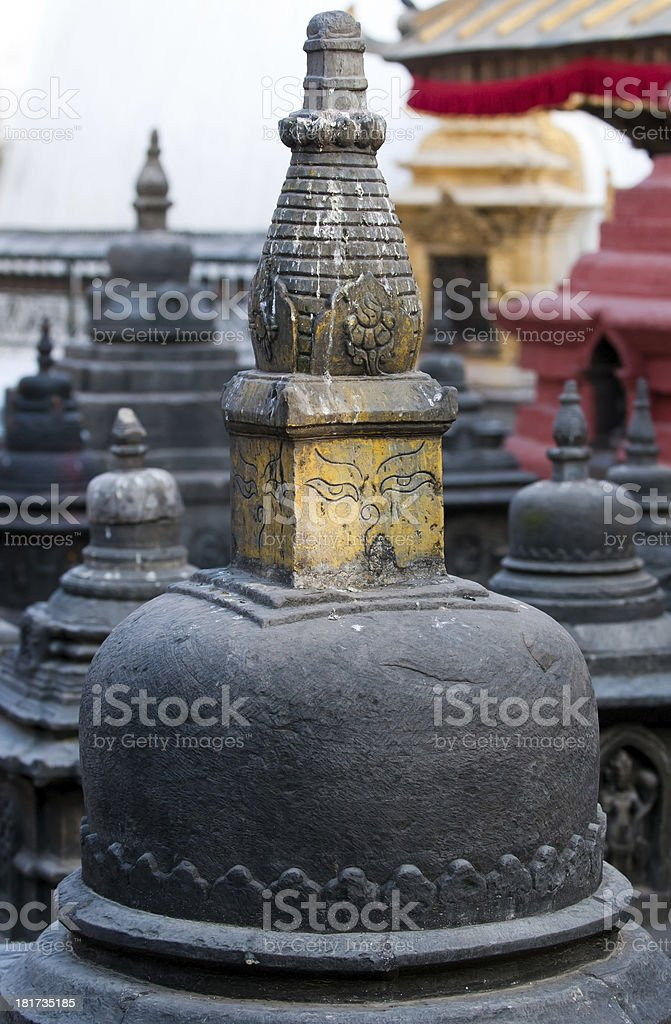Ancient statues royalty-free stock photo