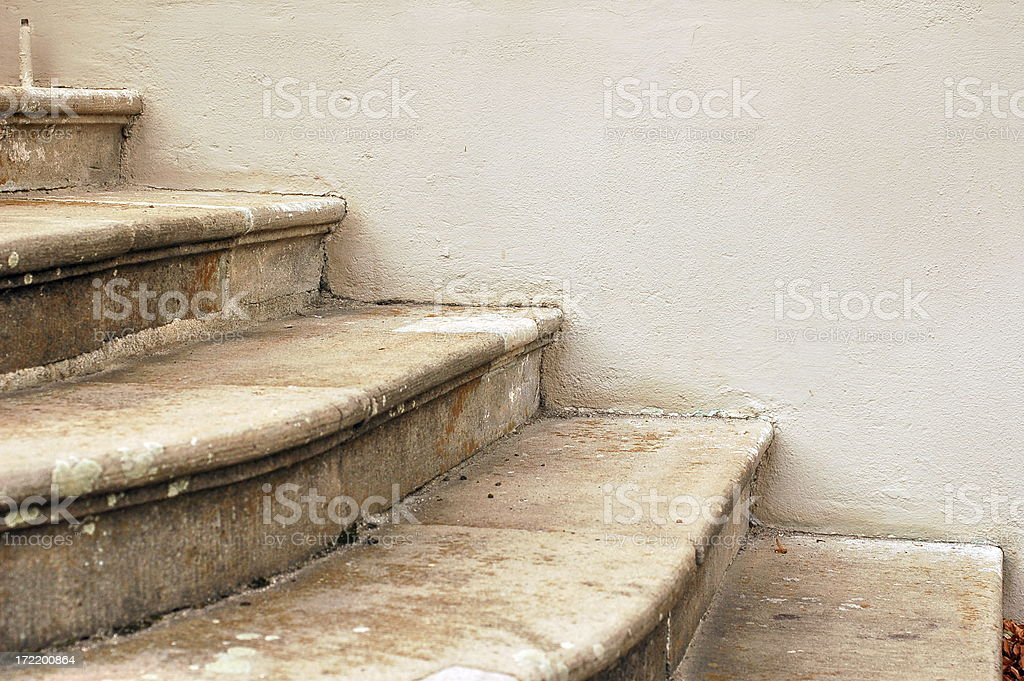 Ancient steps stock photo