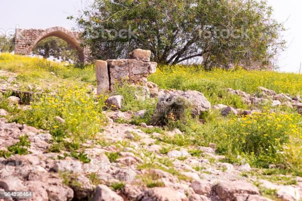 Foto de Edifício De Pedra Antiga Ruínas Parque Arqueológico Local e mais fotos de stock de Arcaico