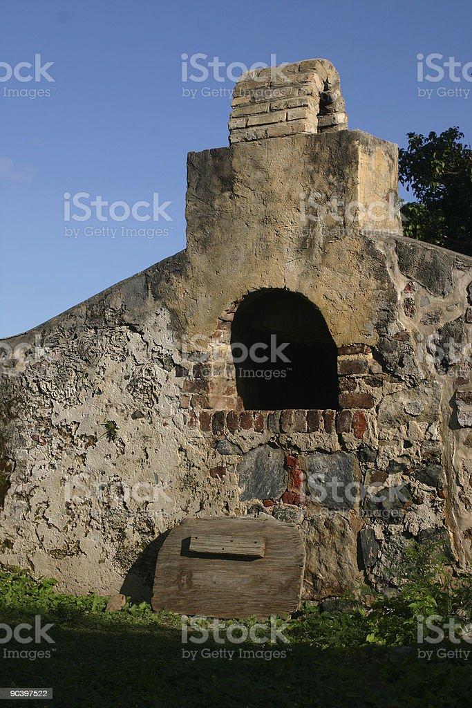 Ancient Stone Oven stock photo