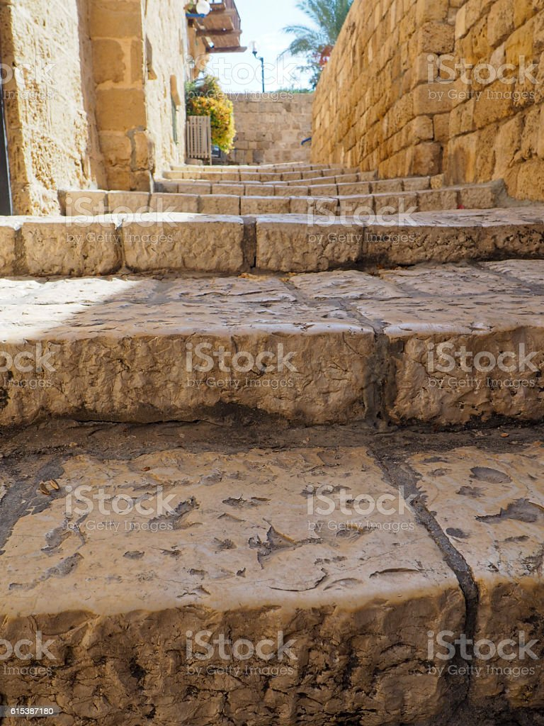Ancient Stone Steps stock photo