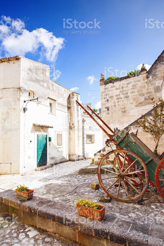 Ancient street, Italy royalty-free stock photo