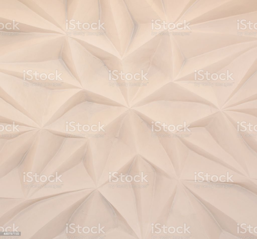 Ancient stucco ceiling texture stock photo