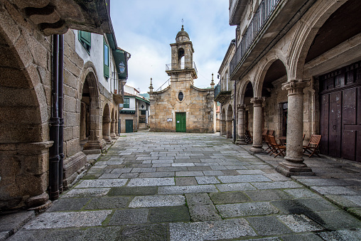 Ancient synagogue in the Jewish quarter of Ribadavia