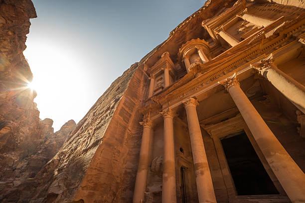 Antike Tempel in Petra, Jordanien – Foto
