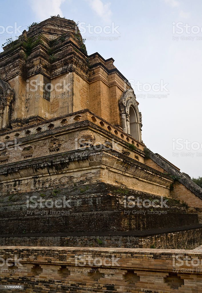 Ancient Temple in Thailand royalty-free stock photo