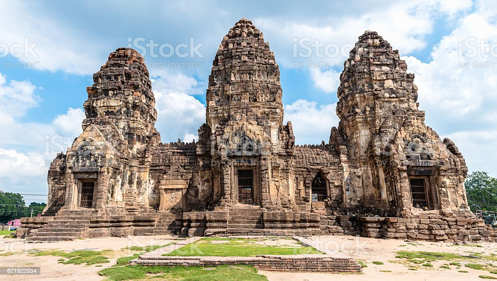 Ancient temple stock photo