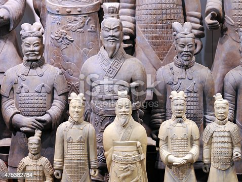 istock Ancient Terracotta Warrior statues in China 475382784