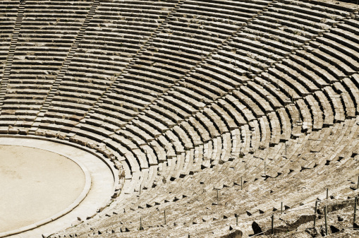 istock Ancient theatre in Greece 160119195