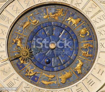 istock Ancient time, astrology and horoscope 1022187382