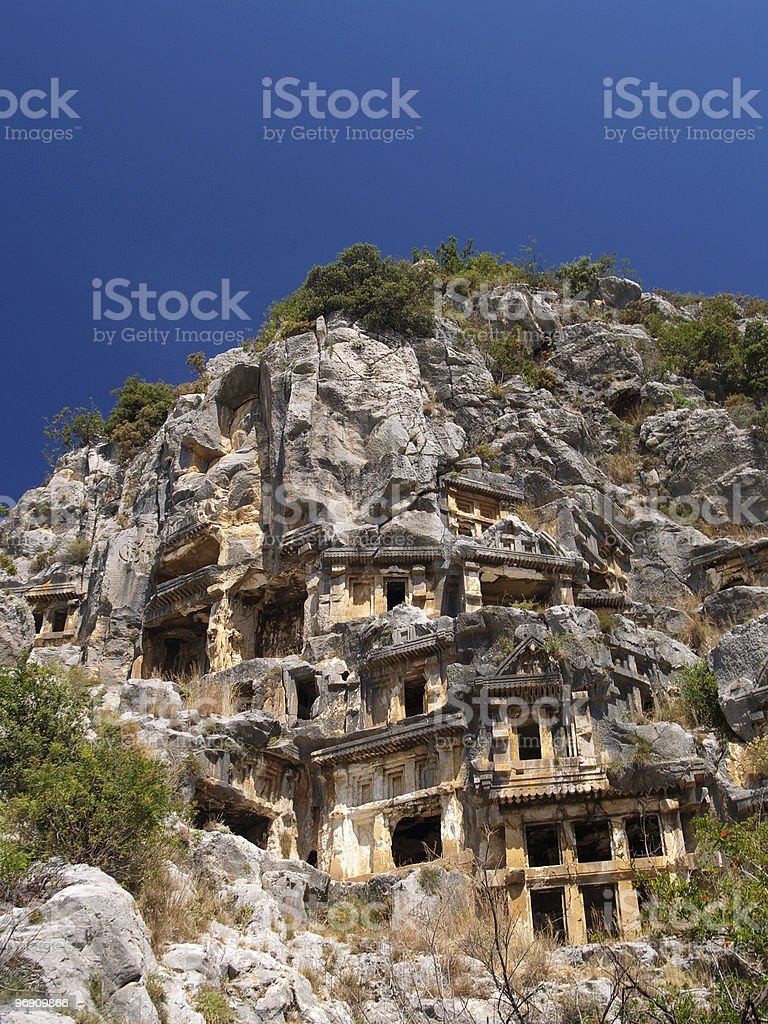 Ancient tombs, part five royalty-free stock photo