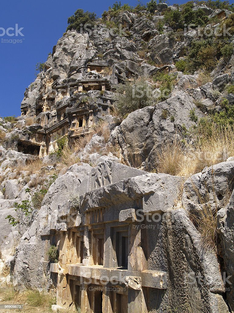Ancient tombs, part four royalty-free stock photo