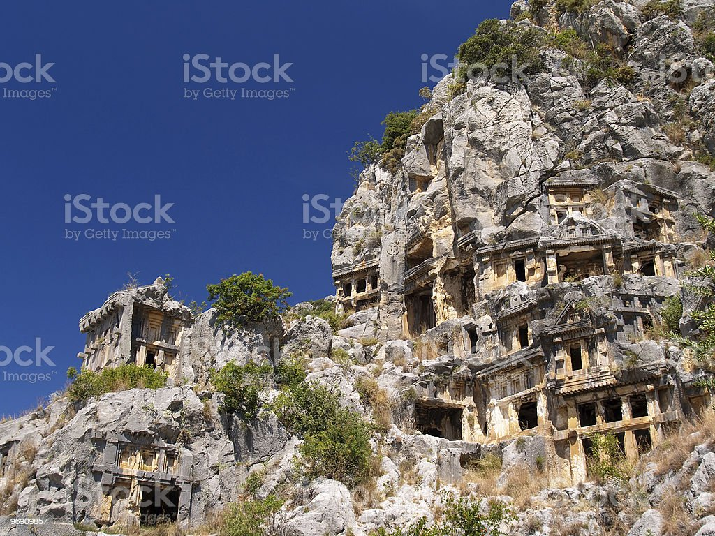 Ancient tombs royalty-free stock photo