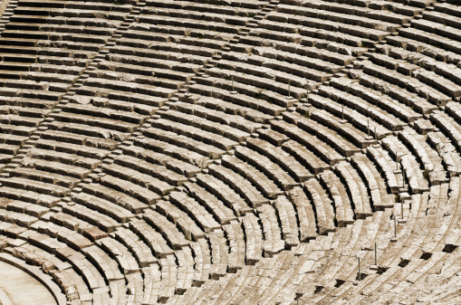 istock Ancient tribunes 136976420