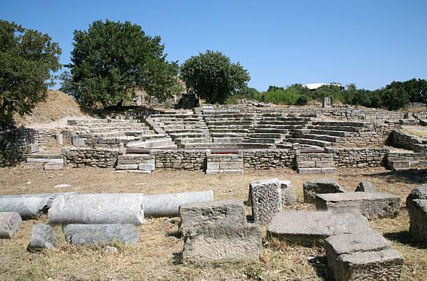 Antike troy-Ruinen – Foto