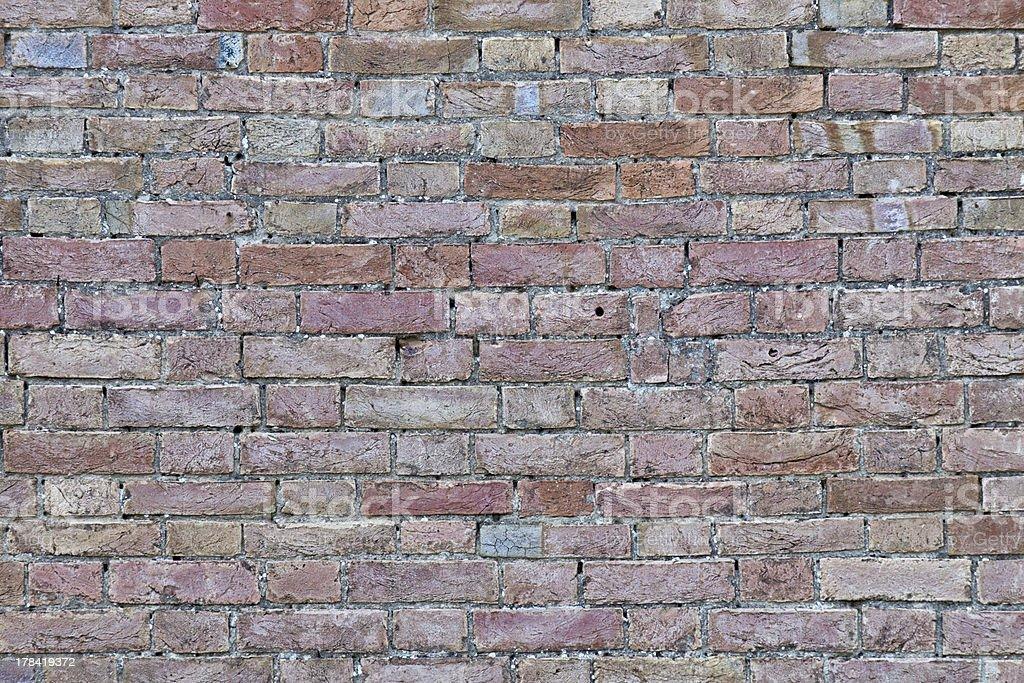 Ancient Wall - Brick Texture stock photo