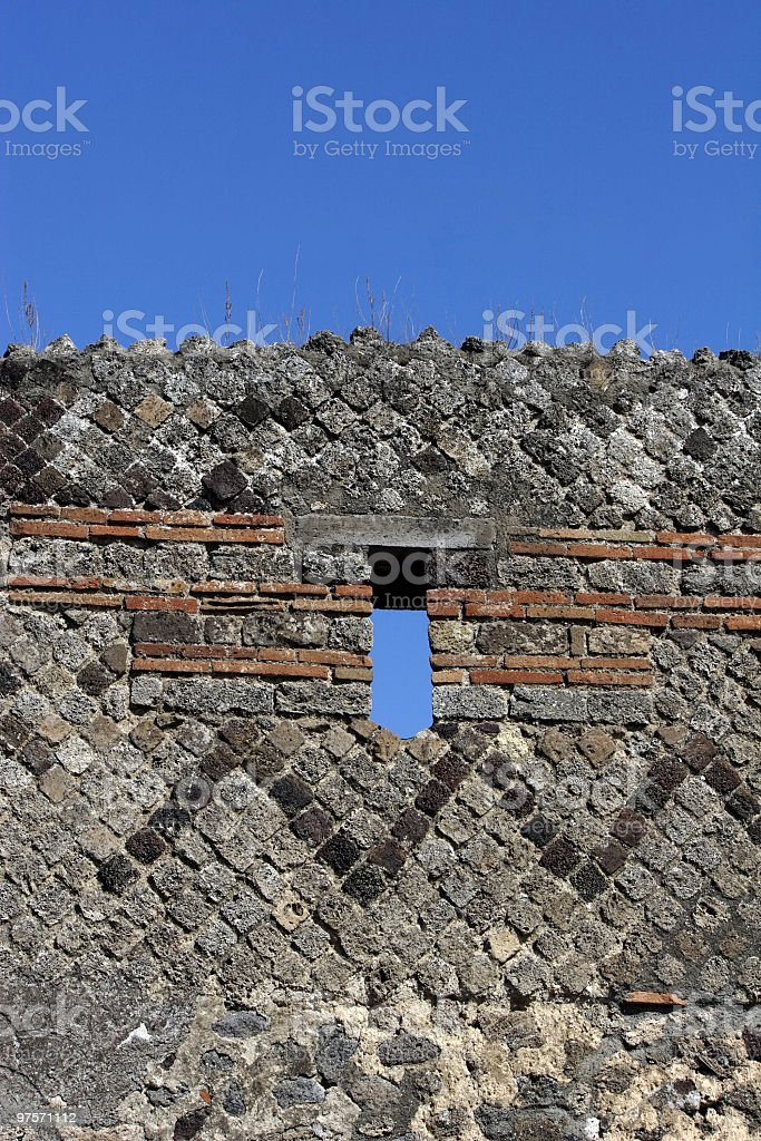 Ancient wall royalty-free stock photo