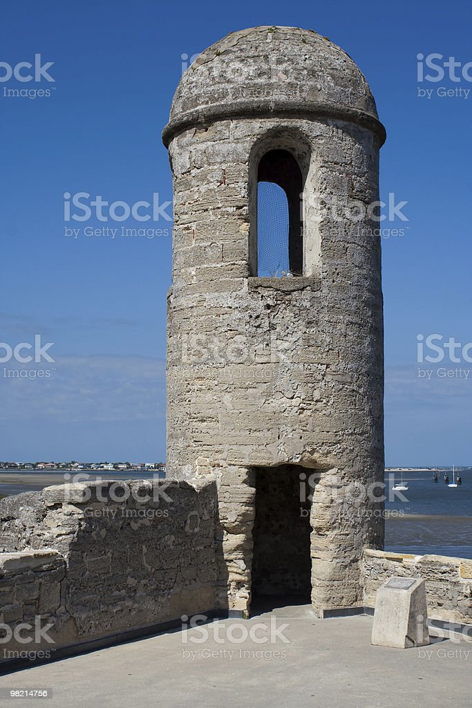 Antica Watchtower foto stock royalty-free