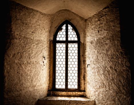 Ancient Window in an old german castle