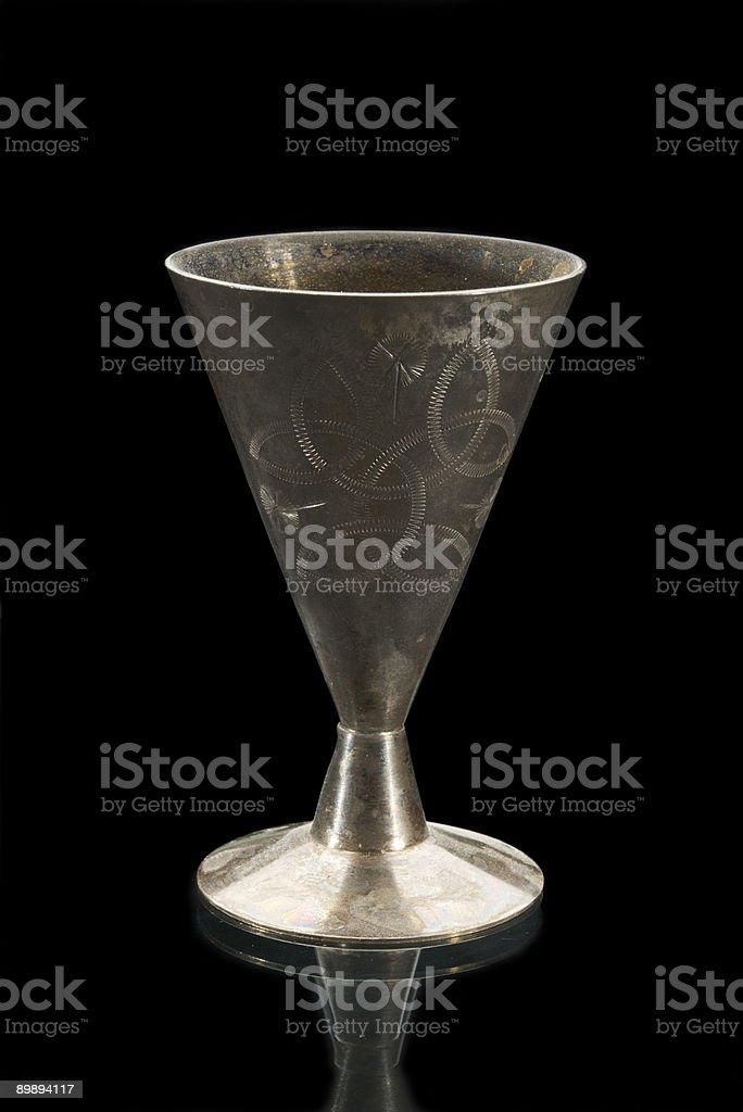 Alte winecup Lizenzfreies stock-foto