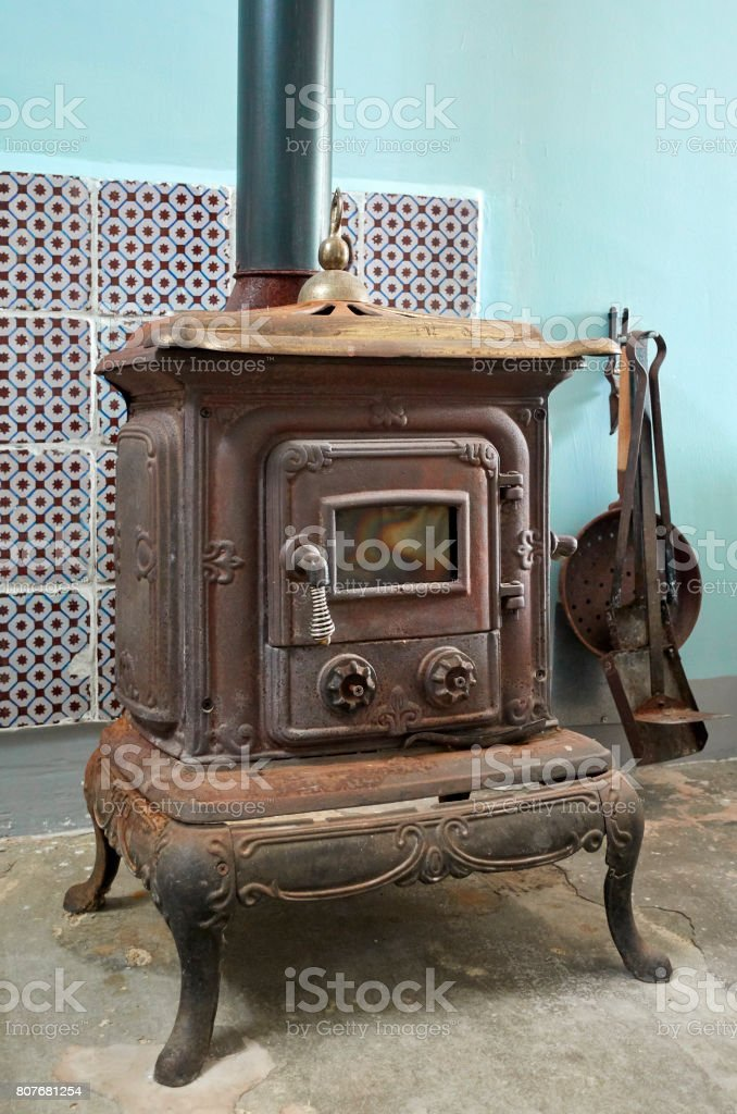 Ancient Wood Stove Stock Photo Download Image Now Istock