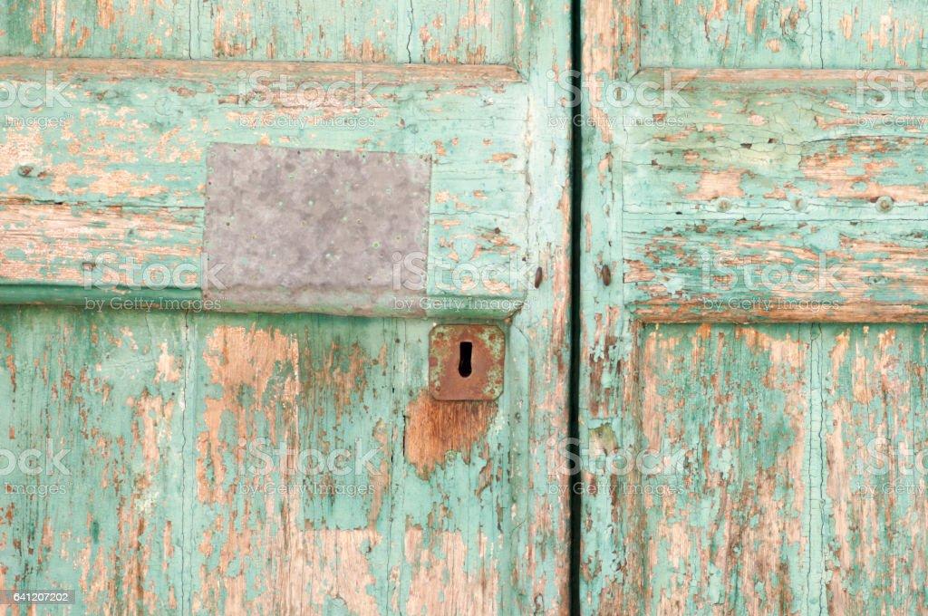 Ancienne porte en bois - Photo