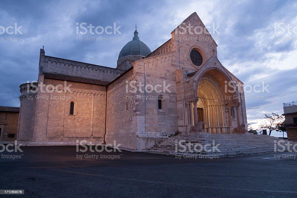Ancona: Cathedral royalty-free stock photo
