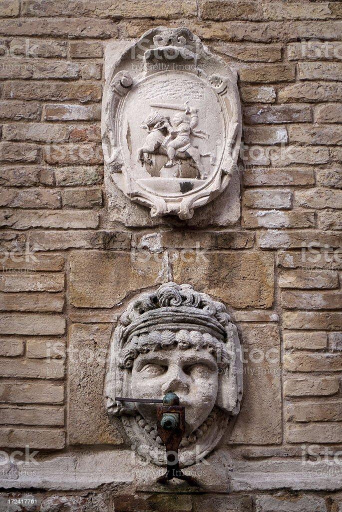 Ancona: Fonte del Calamo royalty-free stock photo