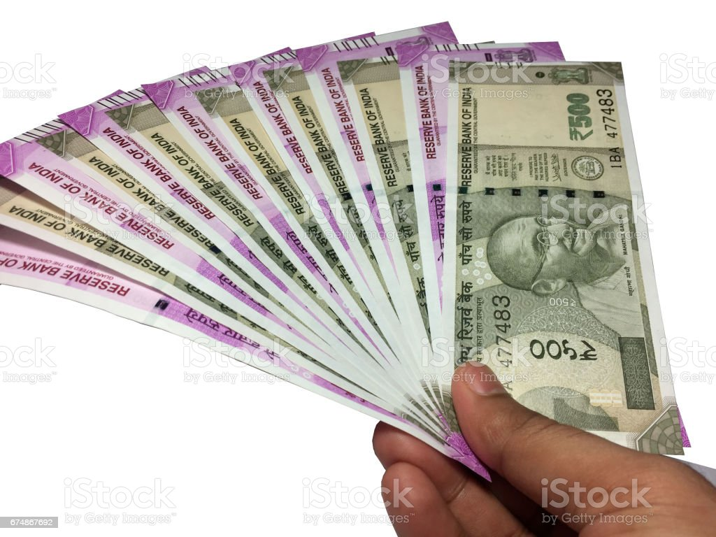 500 And 2000 Indian Currency Stock Photo & More Pictures