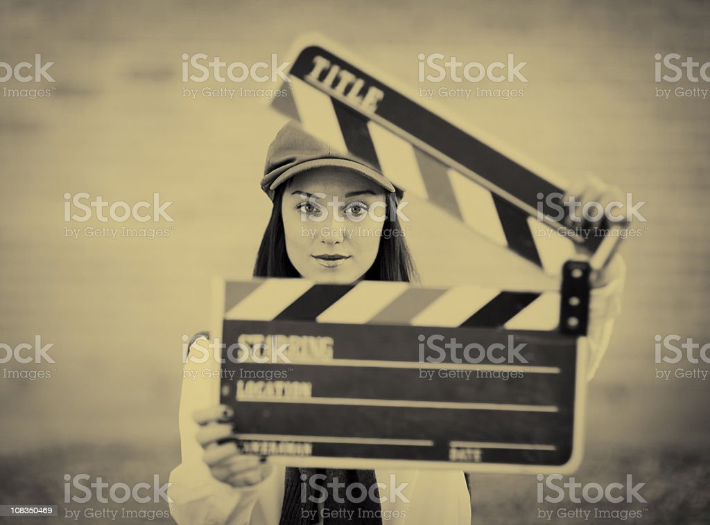 And Action! royalty-free stock photo