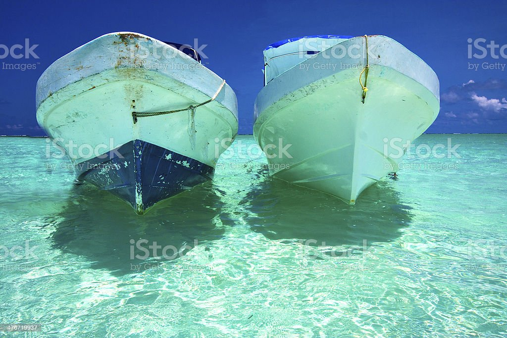 and boat   of sian    mexico stock photo
