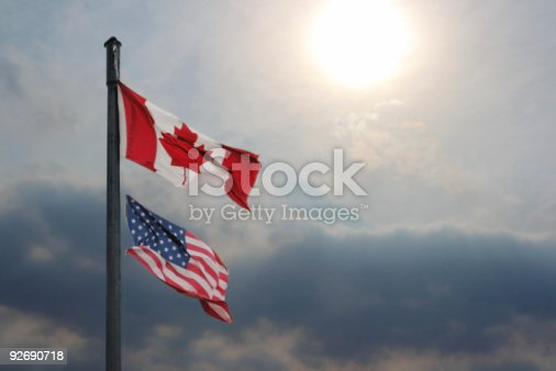 istock US and Canada Relations 92690718