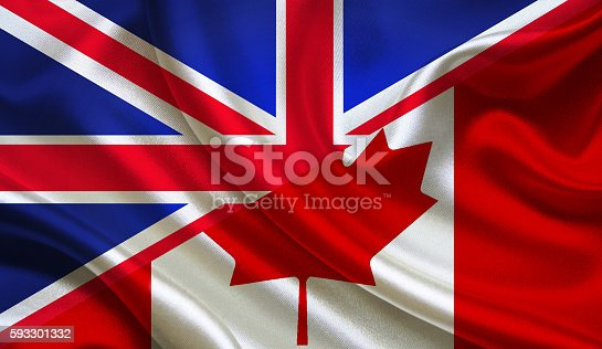 istock UK and Canadian flag 593301332