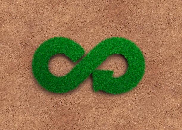 eco and circular economy concept. - economia circular imagens e fotografias de stock