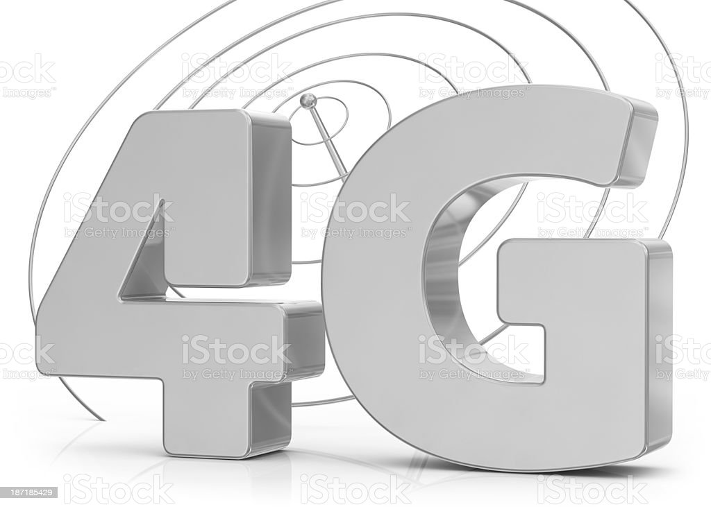 4G and Communication Antenna royalty-free stock photo