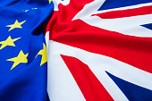UK and European Union flags