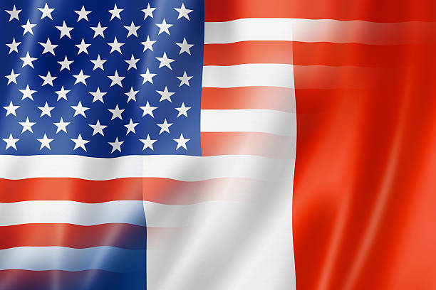 Image result for france and us flag
