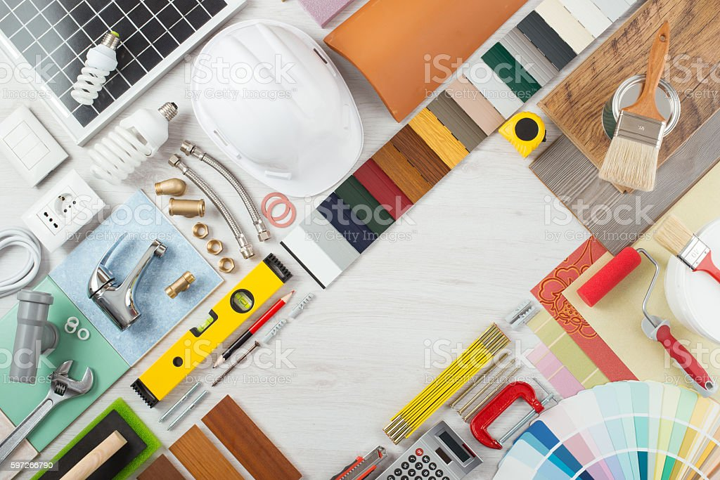 DIY and home renovation royalty-free stock photo
