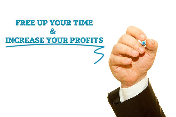 free up your time and increase your profits - horoskop kostenlos stock-fotos und bilder