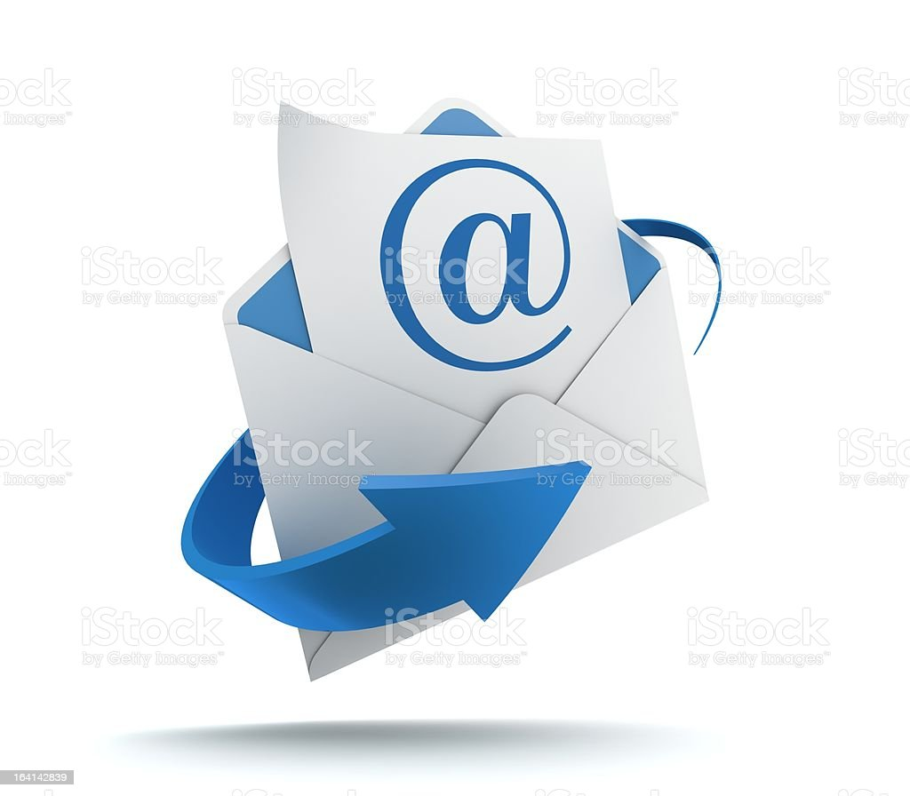 E mail stock photo