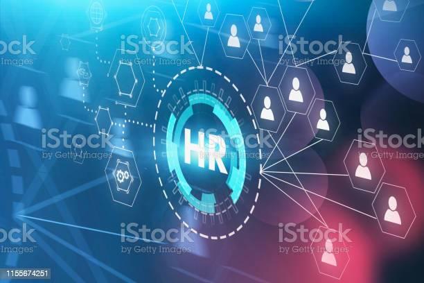 Hr En People Netwerk Interface Stockfoto en meer beelden van Bedrijfsleven