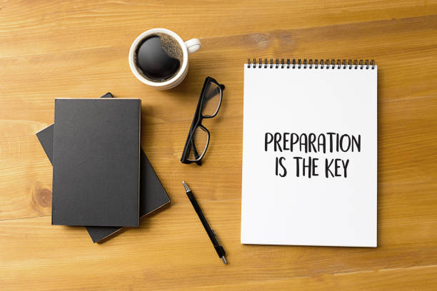be prepared and preparation is the key plan perform  business concept - preparation stock pictures, royalty-free photos & images